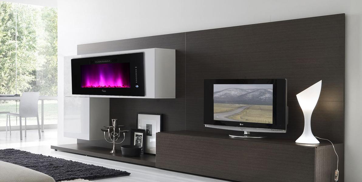 Caesar Electric Fireplace - Revolutionary Luxury Electric ...